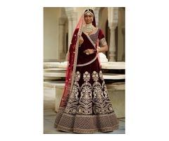 Buy the Latest Bridal lehengas  @vadhucreations.com - Image 1/4