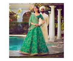 Buy the Latest Bridal lehengas  @vadhucreations.com - Image 3/4