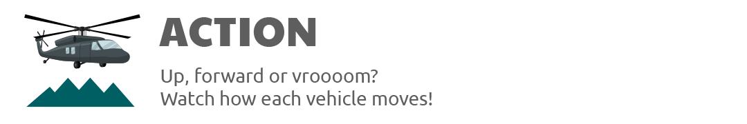 Action of vehicles Play Shifu Travel