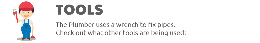 Tools used in various professions