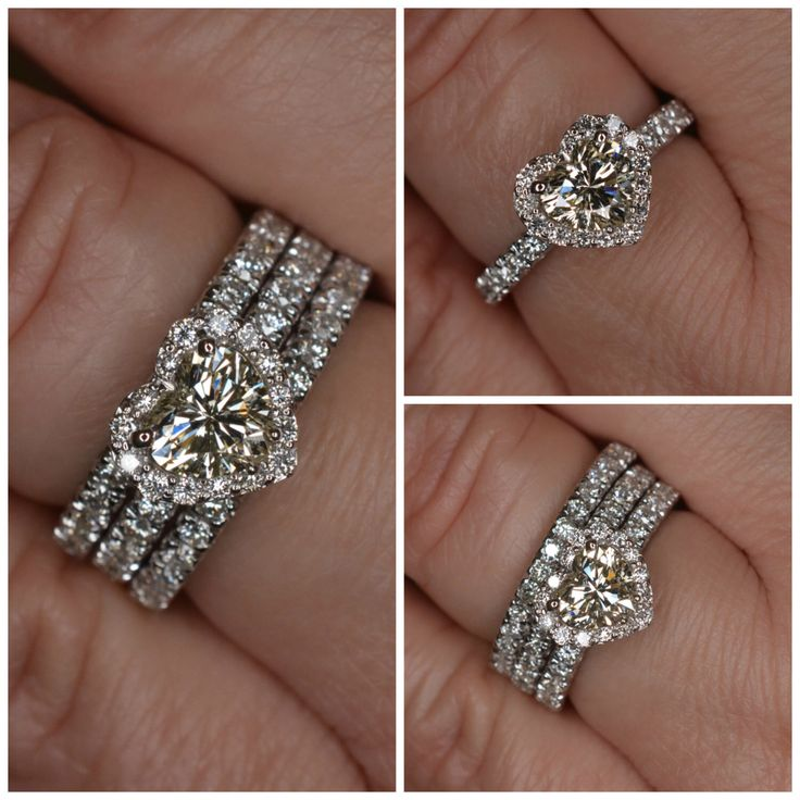 image is loading 14k white gold over womens heart shape diamond - Heart Shaped Diamond Wedding Ring