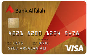 Bank Alfalah Bank Alfalah Visa Gold Credit Card