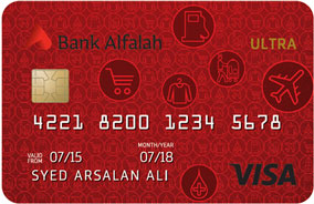 Bank Alfalah Bank Alfalah Ultra Credit Card
