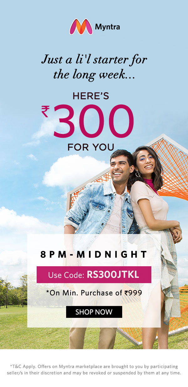 Rs.300 Off for you