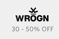 Wrogn | 30 - 50% Off