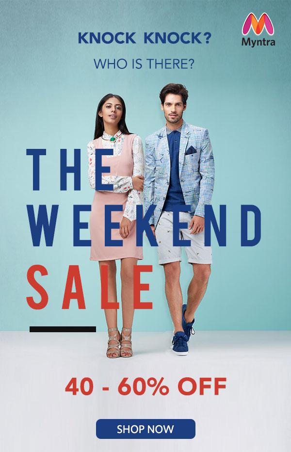 Weekend Sale | 40 - 60% Off