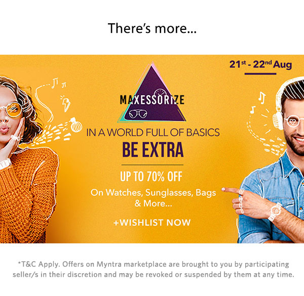 Maxessorize | Up to 70% Off