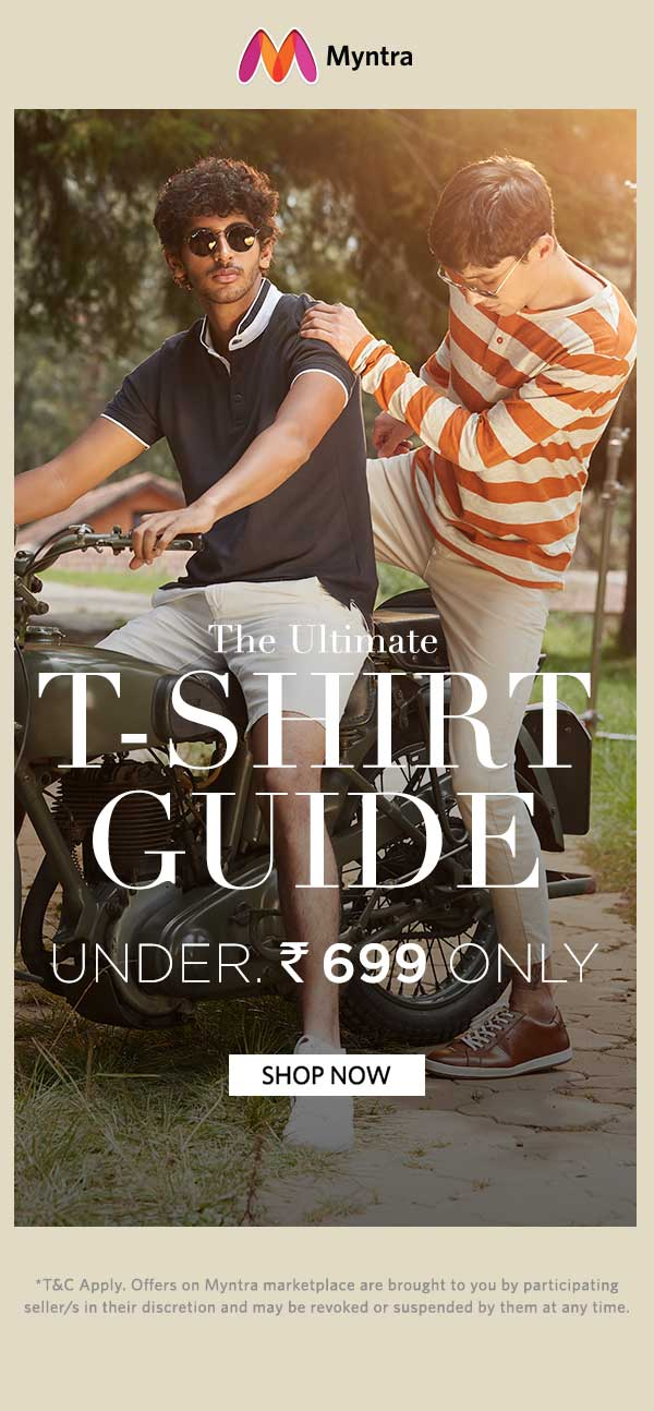 TShirt Guide | Under Rs.699