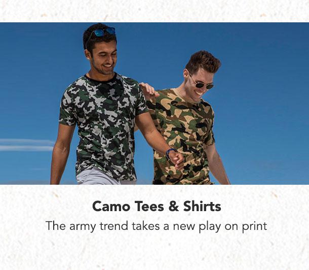 Camo Tees & Shirts