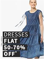 DRESSES FLAT 50-70% OFF