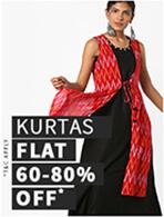 KURTAS FLAT 60-80% OFF