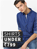 SHIRTS UNDER Rs.799