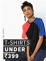 T-SHIRTS UNDER Rs.399