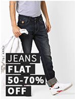 JEANS FLAT 50-70% OFF