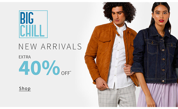 Extra 40% Off: Big Chill