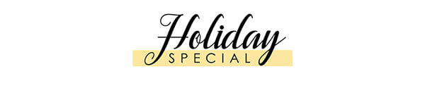 Holiday Special: Up to 75% off