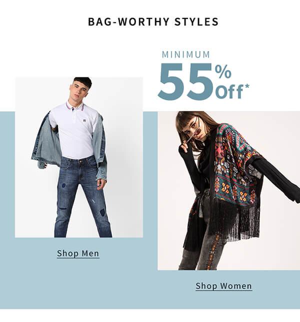 Min. 55%  off: Bag Worthy Days