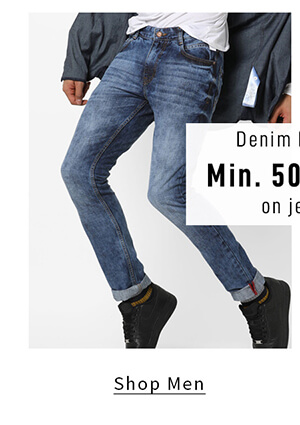 Denim Diaries - Shop Men