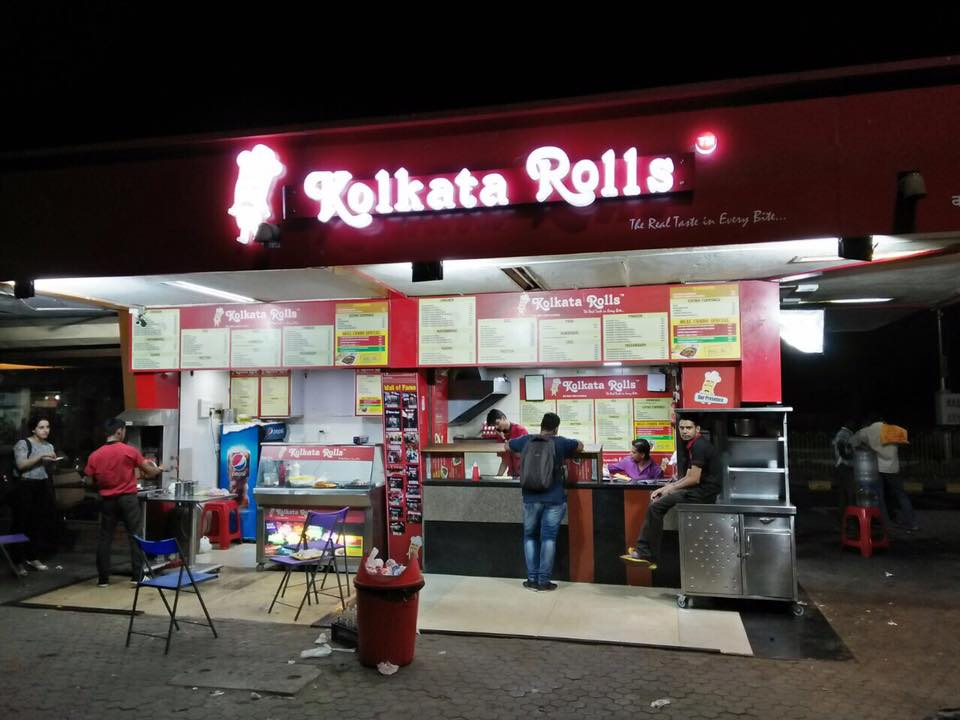 Kolkata Rolls (Kharghar, Railway Station)