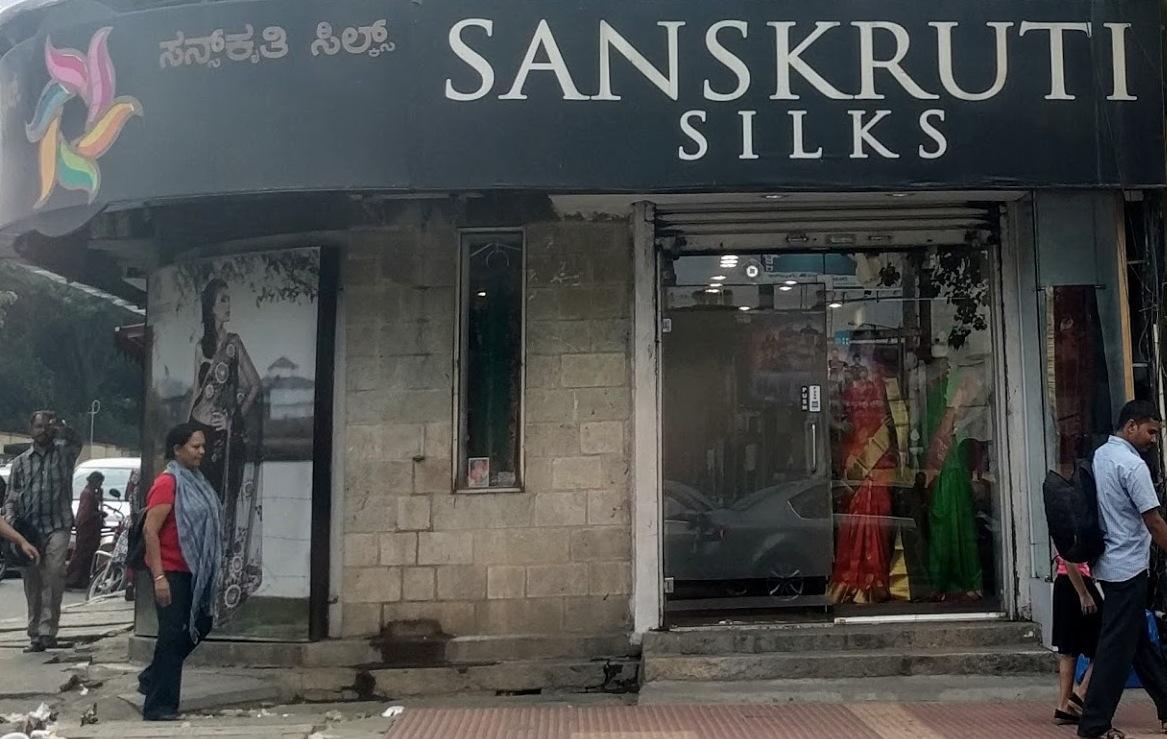 Sanskruti Silks (Commercial Street)