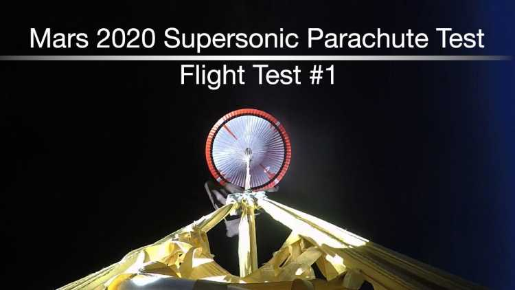 Watch: NASA test its Supersonic Parachute for Mars 2020 mission