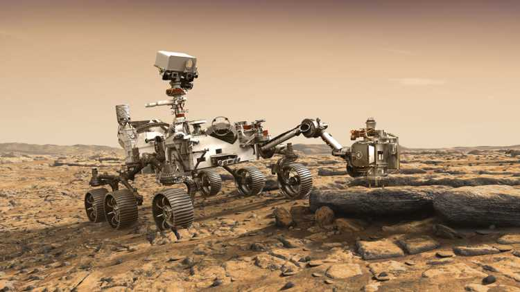NASA's working on a new rover to detect life on Mars