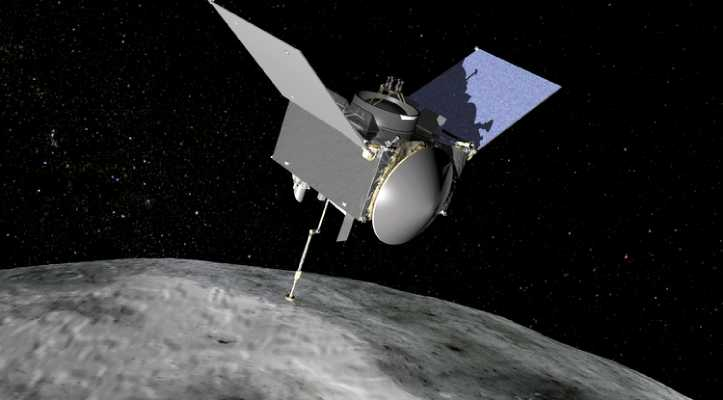 NASA's mission OSIRIS-REx begins surveying an asteroid called Bennu