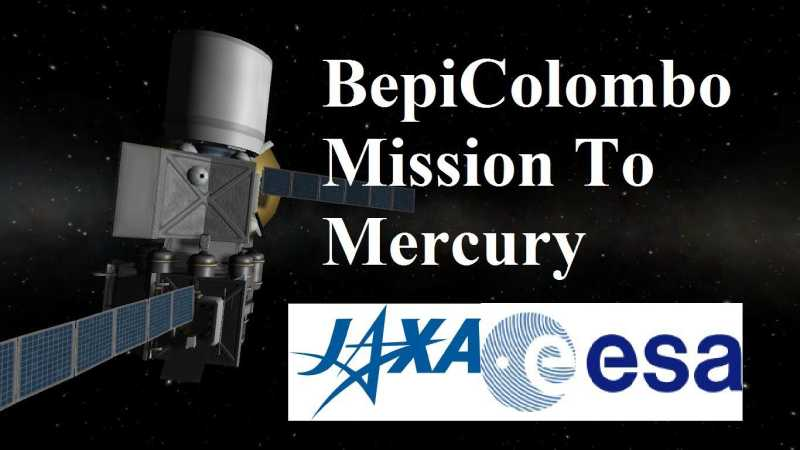 Europe and Japan launch an orbiter and lander to Mercury: Mission BepiColumbo