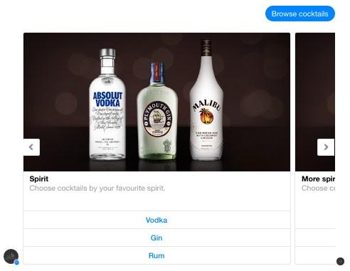 Pernod Ricard's content hub Bot