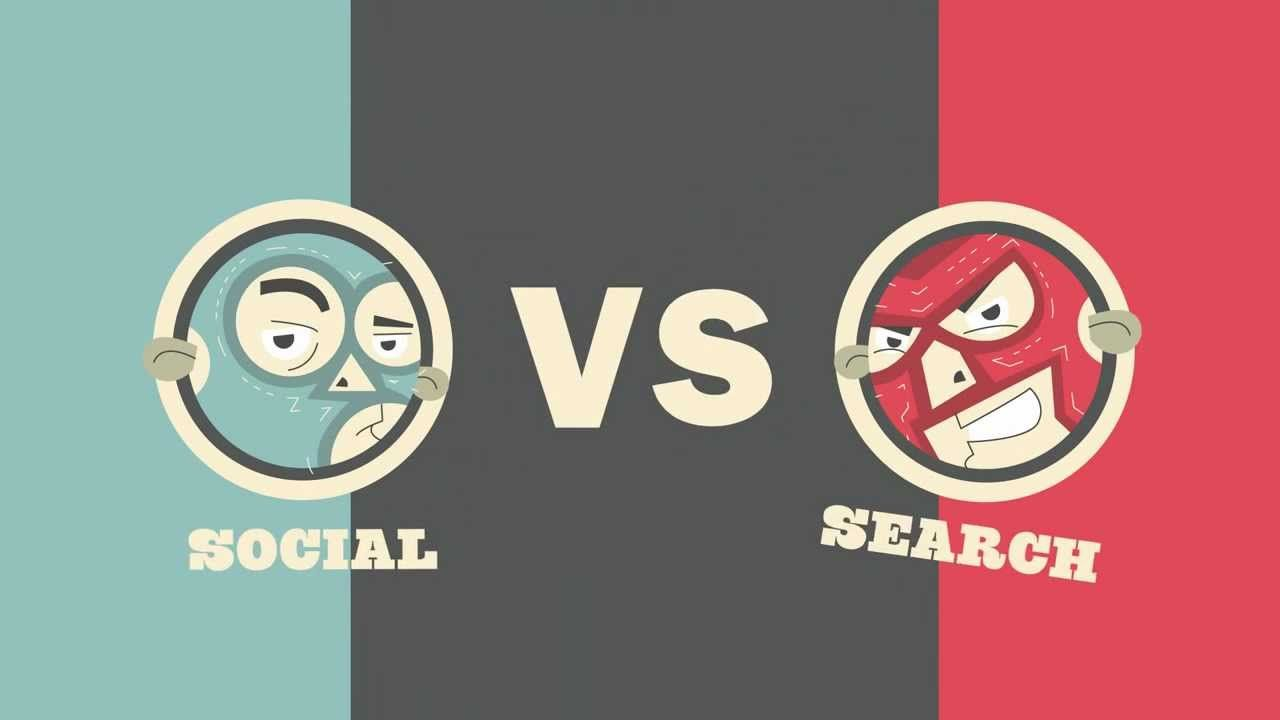 Social Media Vs Search Engine