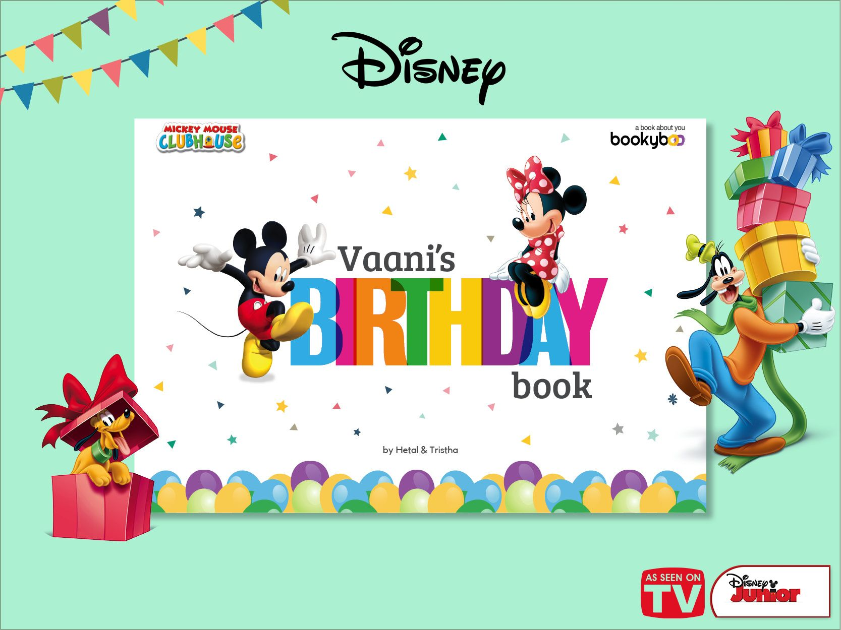 Mickey Mouse Birthday Book