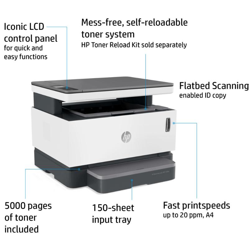 Imprimantes laser HP Neverstop