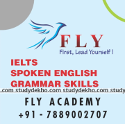 Fly Academy - Language Classes For English Logo