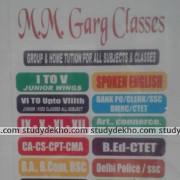 MM Garg Classes Logo