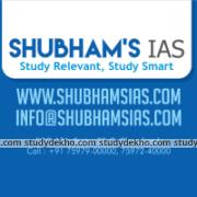 Shubham's Initiative for IAS Logo