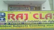 RAJ CLASSES Logo