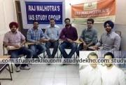 Raj Malhotras IAS STUDY GROUP Images