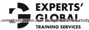 Experts Global Training Logo
