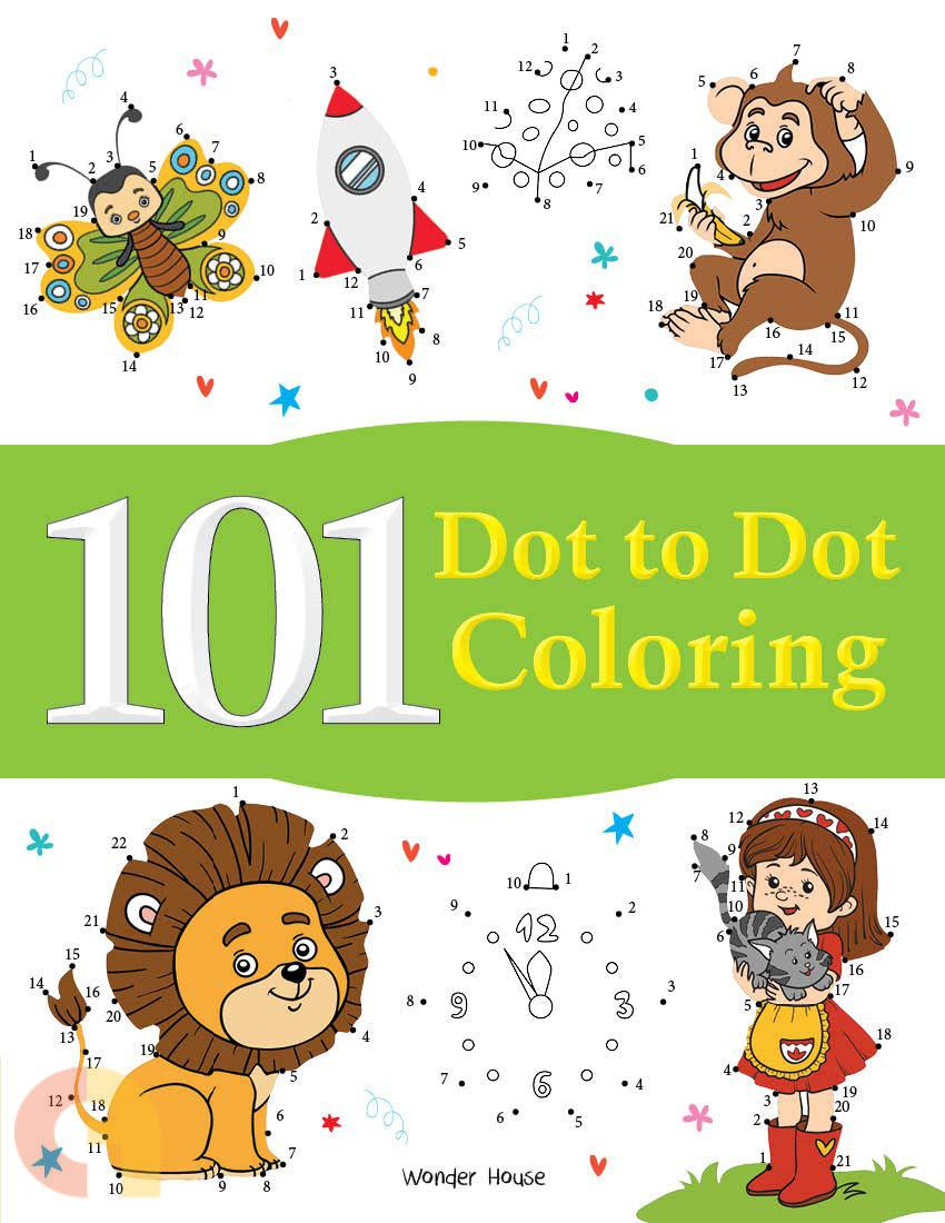 101 Dot to Dot Coloring