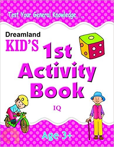 1st Activity Book - IQ (Kid's)