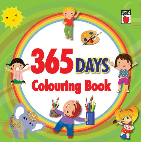 365 Days Colouring Book