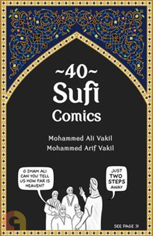 40 Sufi Comics (Colour edition)