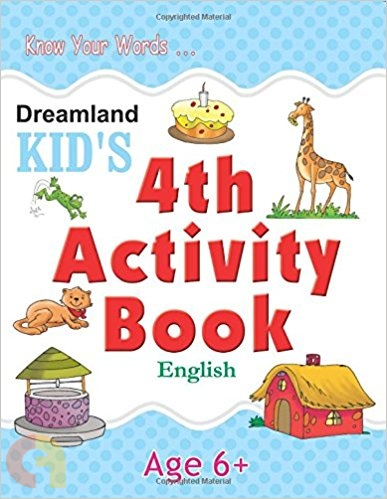 4th Activity Book - English (Kid's)