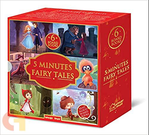 5 minutes fairytale Book set (set of six board books)