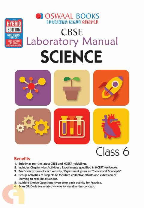 Oswaal CBSE Laboratory Manual Class 6 Science Book