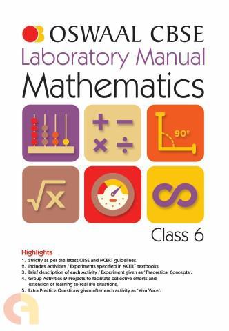 Oswaal CBSE Laboratory Manual Class 6 Mathematics Book