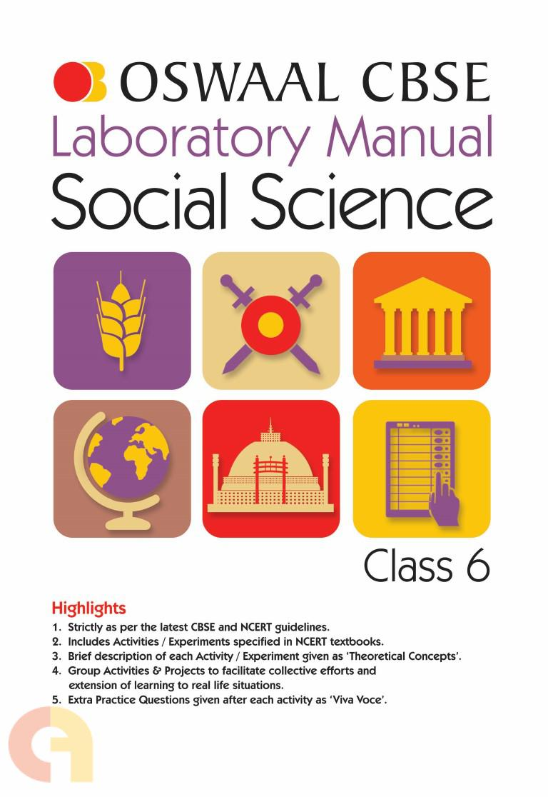 Oswaal CBSE Laboratory Manual Class 6 Social Science Book