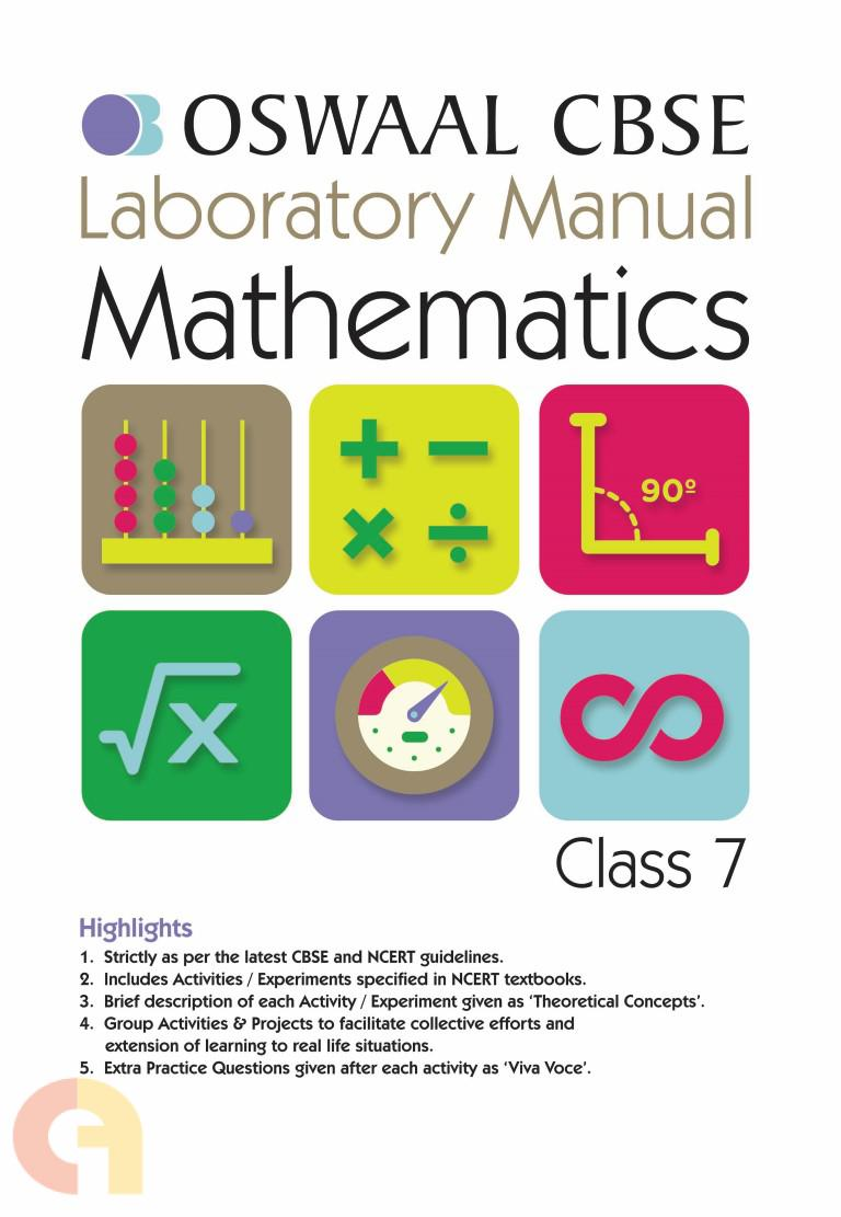 Oswaal CBSE Laboratory Manual Class 7 Mathematics Book