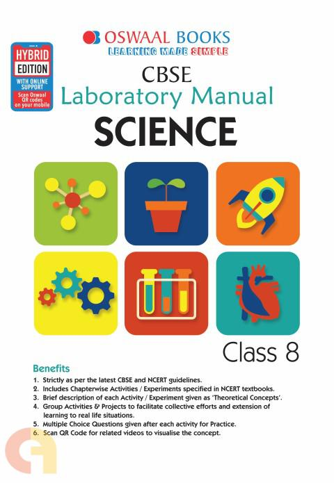 Oswaal CBSE Laboratory Manual Class 8 Science Book