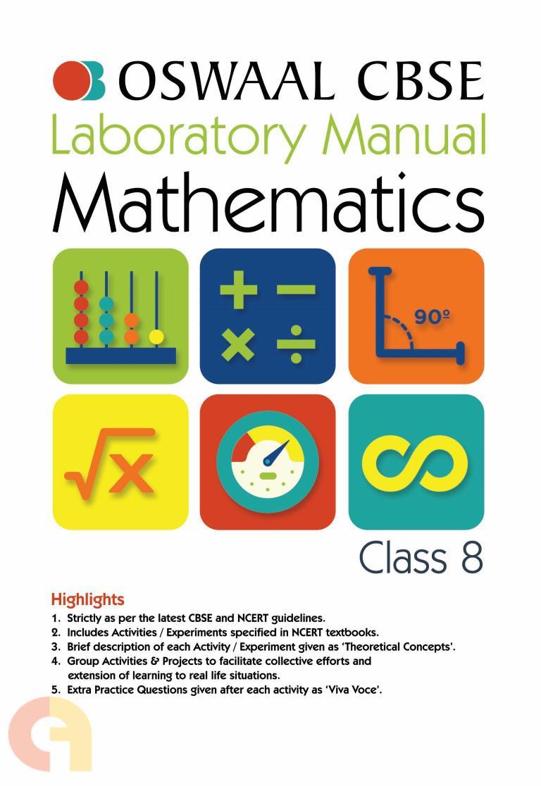 Oswaal CBSE Laboratory Manual Class 8 Mathematics Book